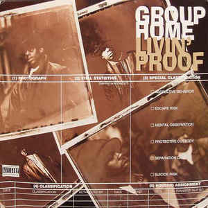 Livin' Proof - Album Cover - VinylWorld