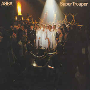 ABBA - Super Trouper - Album Cover