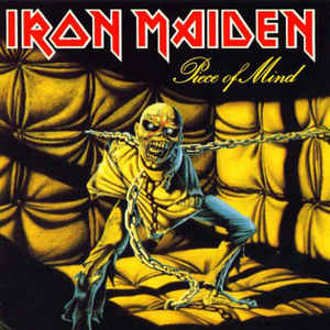 Iron Maiden - Piece Of Mind - Album Cover
