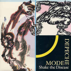 Depeche Mode - Shake The Disease - Album Cover