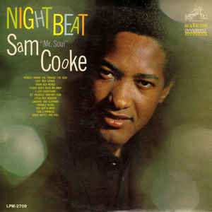 Sam Cooke - Night Beat - Album Cover