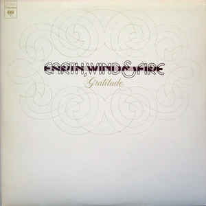 Earth, Wind & Fire - Gratitude - Album Cover