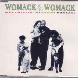 Womack & Womack - MPB (Missin' Persons Bureau) - Album Cover