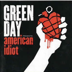 Green Day - American Idiot - Album Cover