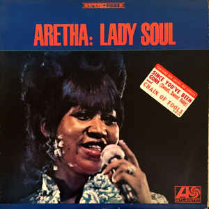 Aretha Franklin - Lady Soul - Album Cover