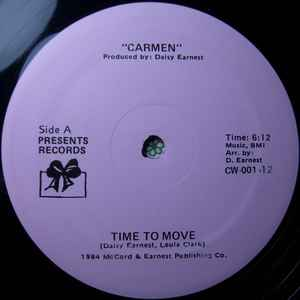 Carmen (4) - Time To Move - VinylWorld