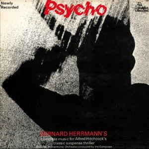 Bernard Herrmann - Psycho - Album Cover