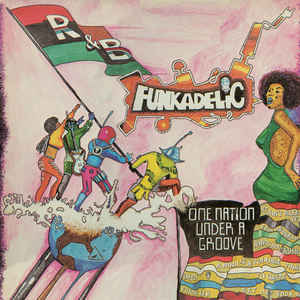 Funkadelic - One Nation Under A Groove - Album Cover
