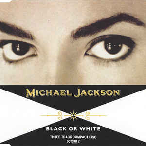 Michael Jackson - Black Or White - Album Cover