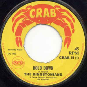 The Kingstonians - Hold Down / Who Will She Be - VinylWorld