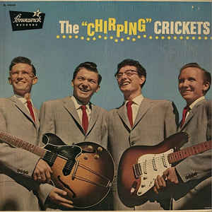 "The ""Chirping"" Crickets - Album Cover - VinylWorld"