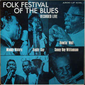 Muddy Waters - Folk Festival Of The Blues - Album Cover