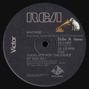 Machine - There But For The Grace Of God Go I - Album Cover