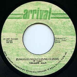 Yellowman - Zungguzungguguzung Guzeng - Album Cover