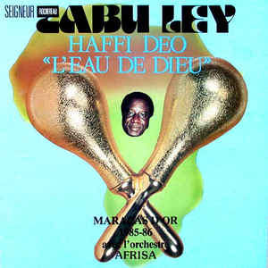 "Haffi Deo ""L'Eau De Dieu"" - Album Cover - VinylWorld"