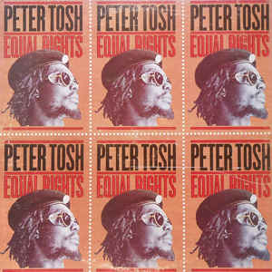Peter Tosh - Equal Rights - Album Cover