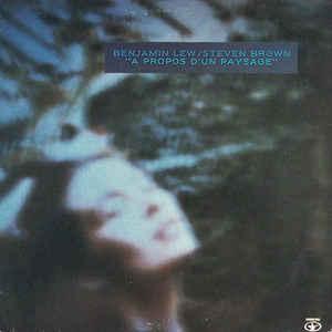 Benjamin Lew - A Propos D'Un Paysage - VinylWorld
