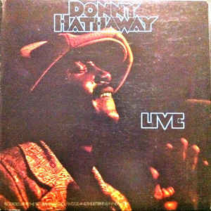 Donny Hathaway - Live - Album Cover