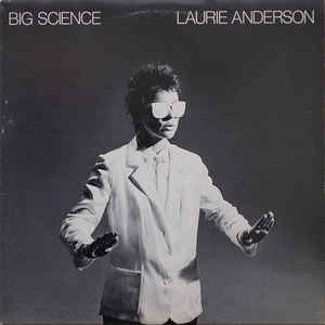 Laurie Anderson - Big Science - Album Cover