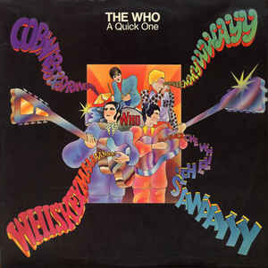 The Who - A Quick One - Album Cover
