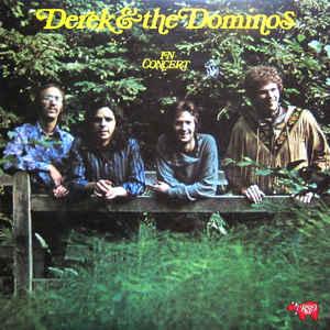 Derek & The Dominos - In Concert - Album Cover