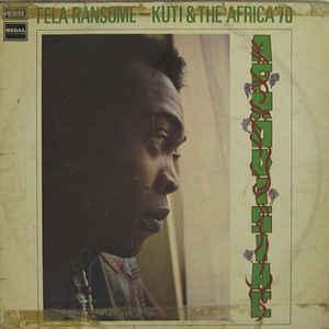 Fela Kuti - Afrodisiac - Album Cover