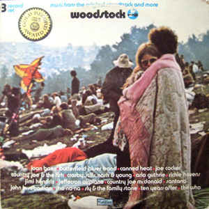 Woodstock - Music From The Original Soundtrack And More - Album Cover - VinylWorld