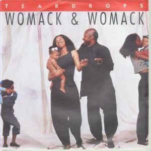 Womack & Womack - Teardrops - Album Cover