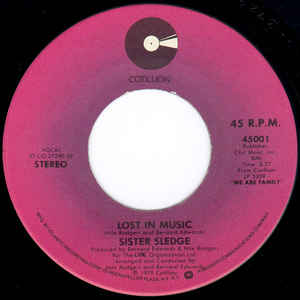Sister Sledge - Lost In Music - VinylWorld
