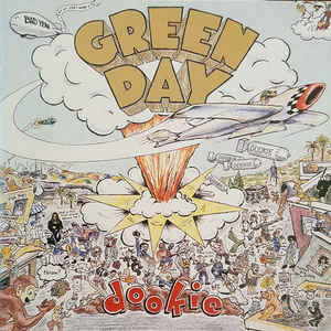 Green Day - Dookie - Album Cover