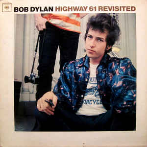 Highway 61 Revisited - Album Cover - VinylWorld