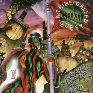 A Tribe Called Quest - Beats, Rhymes And Life - Album Cover