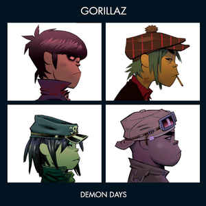 Demon Days - Album Cover - VinylWorld