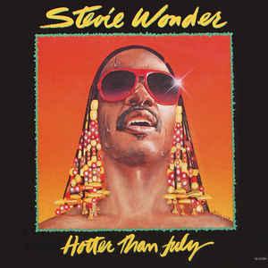 Stevie Wonder - Hotter Than July - Album Cover