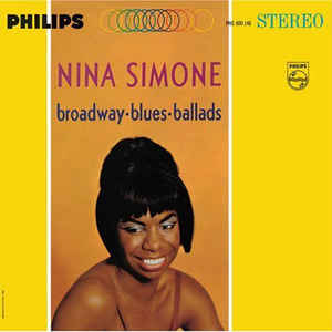 Nina Simone - Broadway - Blues - Ballads - Album Cover
