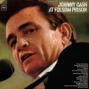 Johnny Cash - At Folsom Prison - Album Cover