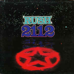 Rush - 2112 - Album Cover