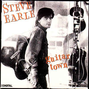 Steve Earle - Guitar Town - Album Cover