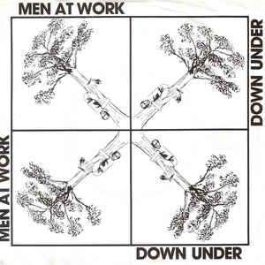 Men At Work - Down Under - Album Cover
