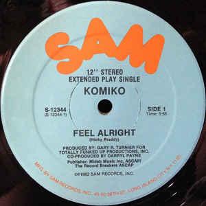 Feel Alright - Album Cover - VinylWorld
