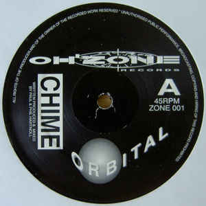 Orbital - Chime / Deeper - Album Cover