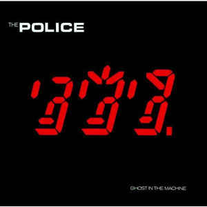 The Police - Ghost In The Machine - Album Cover