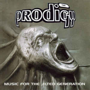 The Prodigy - Music For The Jilted Generation - Album Cover