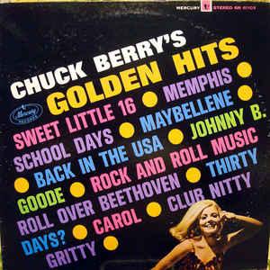 Chuck Berry - Chuck Berry's Golden Hits - Album Cover
