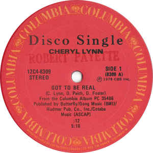 Cheryl Lynn - Got To Be Real - Album Cover