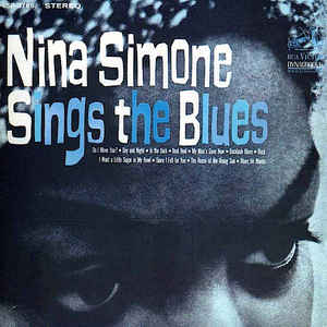 Nina Simone - Nina Simone Sings The Blues - Album Cover