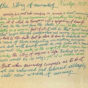 The Story Of Moondog - Album Cover - VinylWorld