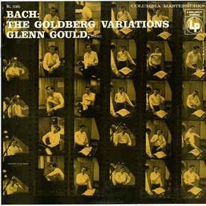 The Goldberg Variations - Album Cover - VinylWorld