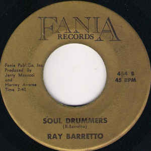Ray Barretto - Mercy, Mercy Baby / Soul Drummers - Album Cover