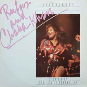 Rufus & Chaka Khan - Ain't Nobody - Album Cover